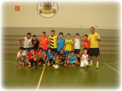 With a Futsal club from São Bernardo do Campo