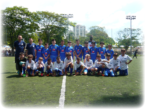 今年のブラジル留学生たちは、MUSASHI FCで出場:The players participated in scrimmage with MUSASHI FC